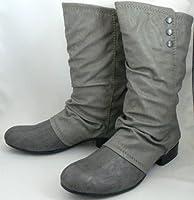 asicsアシックスSOL-CUBANNO5464ブーツ25センチ (グレイ)