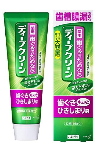 ディープクリーン 薬用ハミガキ 歯槽膿漏・口臭予防 160g [医薬部外品]