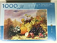 A Profusion of Fruit - 1000 piece jigsaw by King