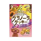 ゴン太のざくグラ グラノーラクッキー 3種のフルーツ 80g