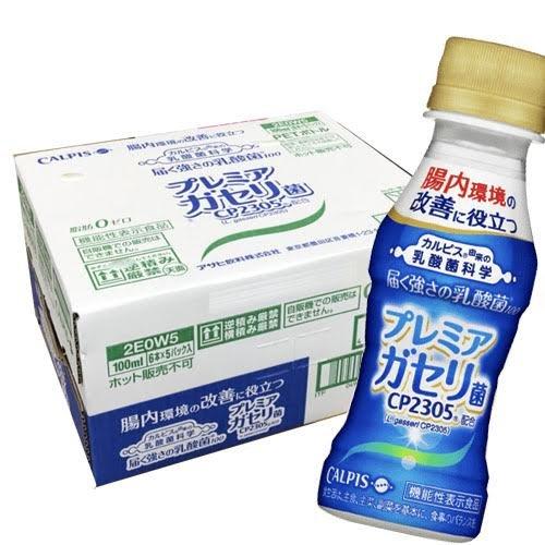 【1ケース30本】カルピス 届く強さの乳酸菌 プレミアガセリ菌 CP2305 100ml×30本入(1ケース)49391497-30