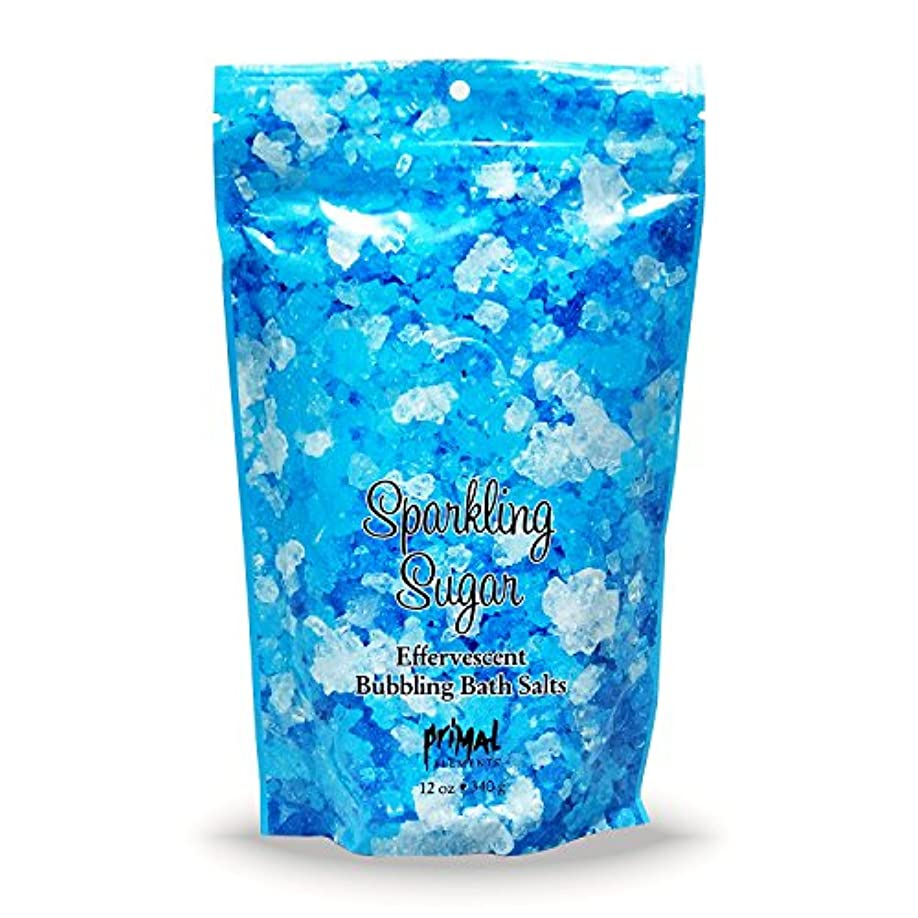 低い領収書コットンプライモールエレメンツ バブリング バスソルト/スパークリングシュガー 340g エプソムソルト含有 アロマの香りがひろがる泡立つ入浴剤