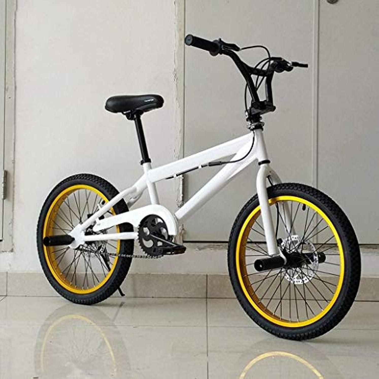 慎重宿命郵便番号BMX 自転車 高度なライダーストリートBMXバイク初心者レベルに適したプロフェッショナルグレードの20インチBMXレースのバイク、スタントアクションBMX自転車、,D