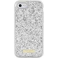 kate spade new york Case Apple iPhone 7 ケイトスペードニューヨークアップルアイフォン携帯電話メタリックバンパー付きグリッターケース [並行輸入品]