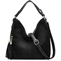 Realer Hobo Bag for Women Tote Leather Purse Crossbody Bag Large