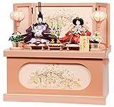雛人形 コンパクト収納飾り ひな人形 コンパクト 親王飾り