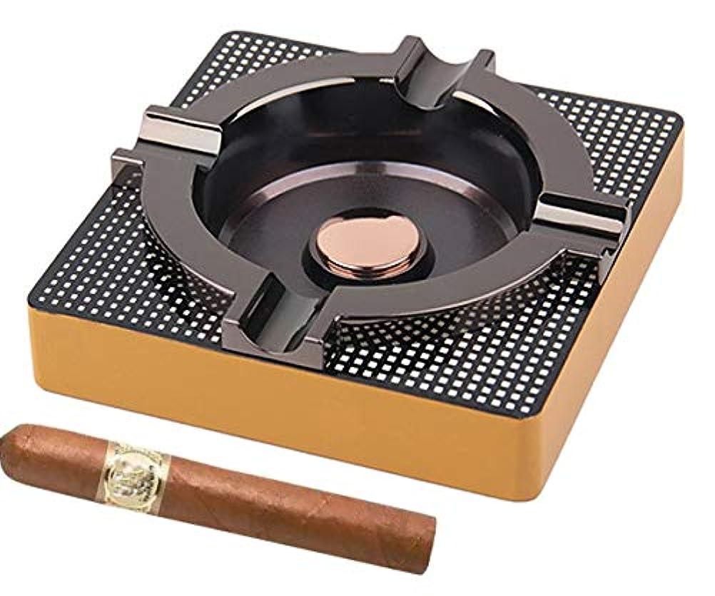 ソフィーマーチャンダイザー計算するパティオ/ホーム/表現代灰皿用シガー灰皿メタルアウトドアシガー灰皿 - (スクエア、合金)