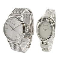 [カルバンクライン]Calvin Klein CK ペアウォッチ【ペア収納BOX付き】シルバー ブレスレットウォッチ K3W21126K5H23126 腕時計 [並行輸入品]