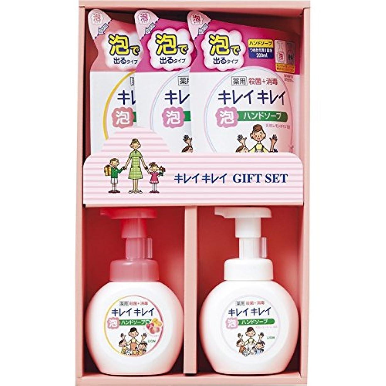 ショッピングセンターいうリフレッシュライオン キレイキレイギフトセット LKG-20S 【いい香り 肌に優しい 良い匂い ハンドソープ 詰め替え 泡 ボトル 手洗い 風邪予防 殺菌効果 子供向け 汚れ 除菌 手に優しい 日本製 薬用】
