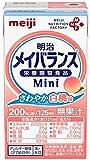 明治メイバランス ミニ mini さわやか白桃味 125ml 24個セット