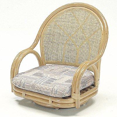 ROMANTIC RATTAN:籐回転座椅子