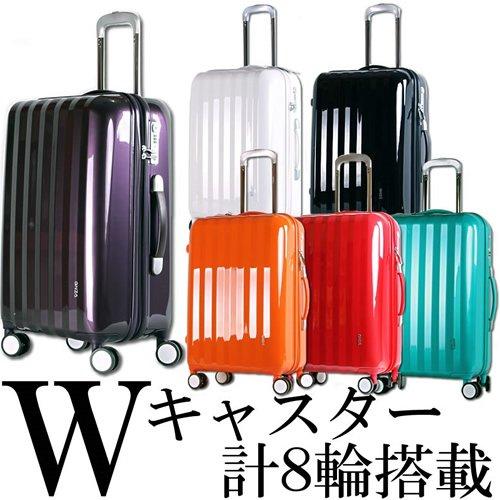 スーツケース 小型 超軽量 ダブルキャスター Sサイズ BK09 (小型, ターコイズ)