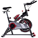 Workout Wiz Spin Bike 13kg Flywheel Gym Fitness Commercial Exercise Home Workout