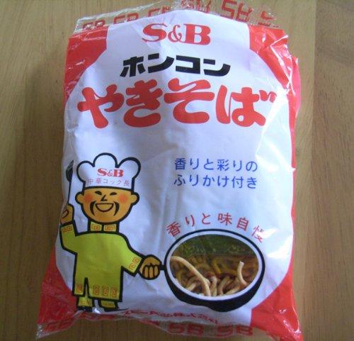 ホンコン焼そば 85g 5食パック×6セット/北海道限定バージョン/北海道民の定番