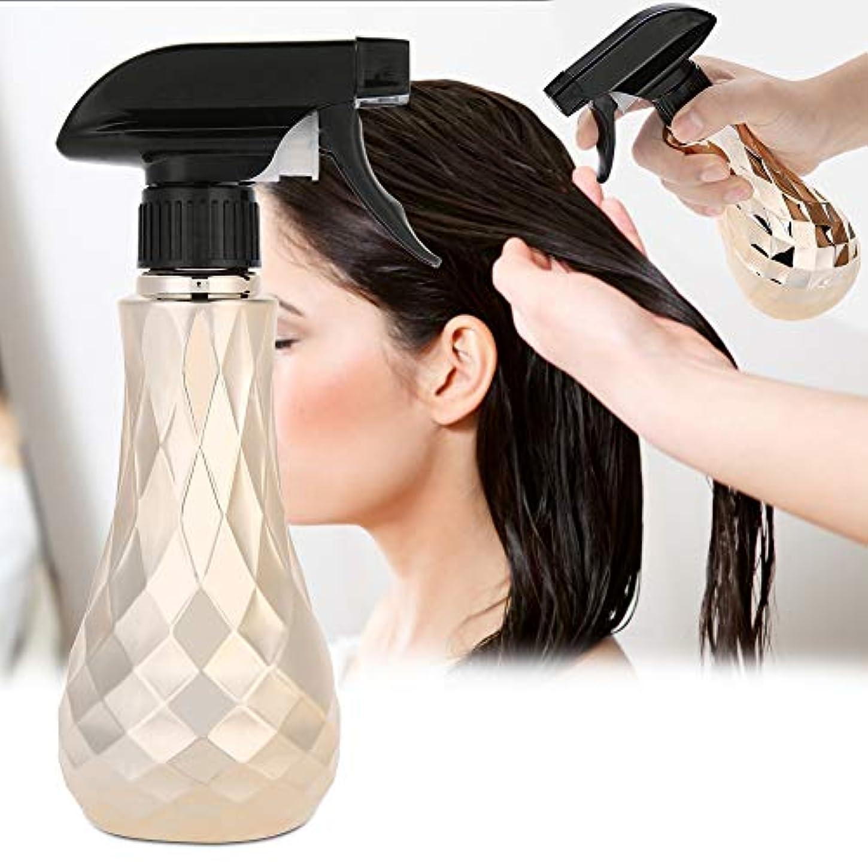 シビックシャイニング溶融水スプレー空のボトル、300ミリリットル詰め替え式プラスチック理髪水スプレー理髪店スプレーボトルコンテナ植物の散水ツールとサロン理髪ヘアスタイリン(Oro)