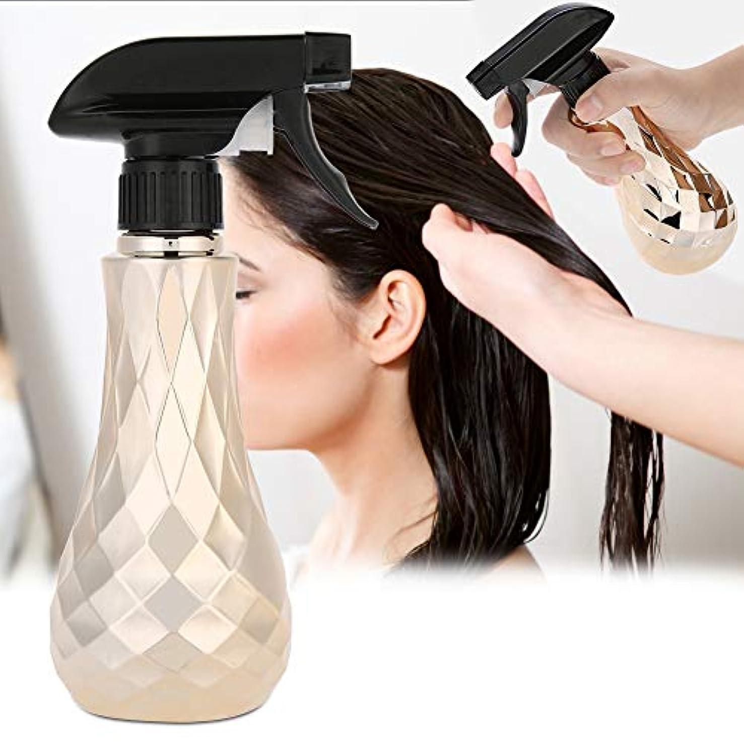 プット数学的な代わりにを立てる水スプレー空のボトル、300ミリリットル詰め替え式プラスチック理髪水スプレー理髪店スプレーボトルコンテナ植物の散水ツールとサロン理髪ヘアスタイリン(Oro)