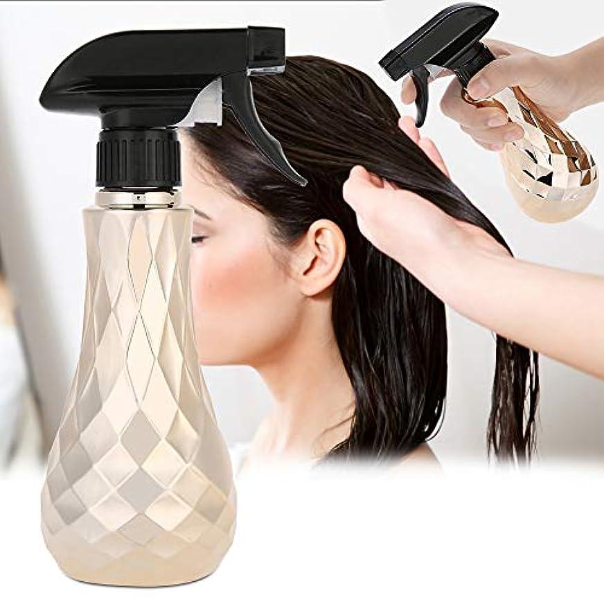 分岐する徐々に包括的水スプレー空のボトル、300ミリリットル詰め替え式プラスチック理髪水スプレー理髪店スプレーボトルコンテナ植物の散水ツールとサロン理髪ヘアスタイリン(Oro)