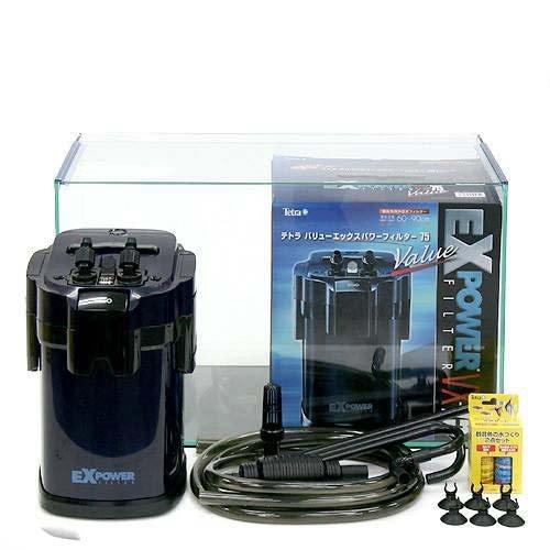 60cm水槽セット オールガラス水槽 アクロ60 + 外部フィルターVX-75 初心者