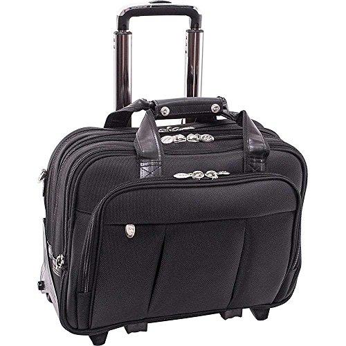 (マックレーンユーエスエー) McKlein USA メンズ バッグ キャリーバッグ Damen Nylon Wheeled 17' Laptop Case 並行輸入品