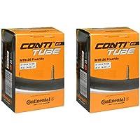 2本セット コンチネンタル Continental MTB26 フリーライドチューブ 26×2.3/26×2.7(57-559/70-559) FREERIDE [並行輸入品]
