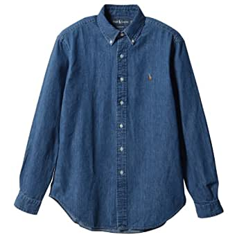 (ポロ・ラルフローレン)Polo Ralph Lauren 並行輸入 Shirt Denim/Chambray Classic-Fit Sport Shirt 7979646 Denim L