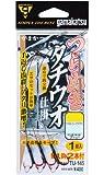 がまかつ(Gamakatsu) ツラヌキタチウオ仕掛 TU145 4-49(ワイヤー#49)