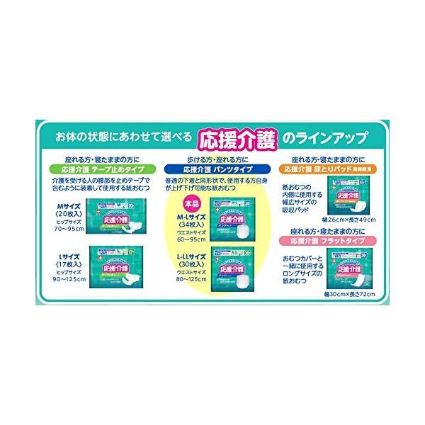 応援介護 パンツ タイプ M-Lサイズ 男女共...の紹介画像4