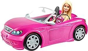 バービー バービーとかわいいピンクのクルマ DJR55
