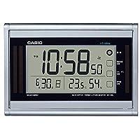 カシオ デジタル生活環境お知らせ電波置き掛け兼用時計 ソーラーエナジー 日付表示 温・湿度表示付 IDS-160J-8JF