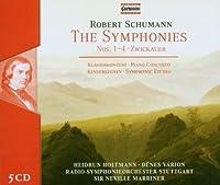 シューマン:交響曲全集/ピアノ協奏曲/交響的練習曲/子供の情景