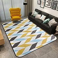 スリップ 快適 カーペット, な 北欧 幾何学的です ラグ・カーペット, の ベッド ダイニング ルーム 家を飾る 床マット-L 180x180cm(71x71inch)