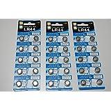アルカリボタン電池 LR44 30個(10個×3パック) [並行輸入品]