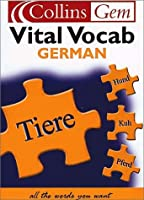 German Vital Vocab (Collins Gem)