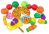 DEZAR 子供キッチン ままごとセット 知育玩具 24個セット