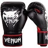 VENUM ボクシンググローブ Contender kids コンテンダー キッズ(黒/赤) (8オンス)