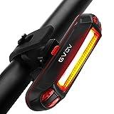 自転車テールライト GVDV ledライト USB充電式 サイクルテールライト 防水防塵 高輝度 リフレクター 夜道安全 6モード調光 赤いライト 簡単装着