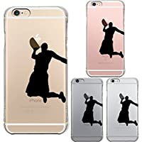 iPhone6 iPhone6S 対応 衝撃吸収 ソフト クリア ケース 保護フィルム付 バスケットボール ダンクシュート2