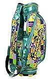 ラウドマウス ゴルフ(LOUDMOUTH GOLF) キャディバッグ 9型 47インチ対応 lm-cb0001 (グリーン)