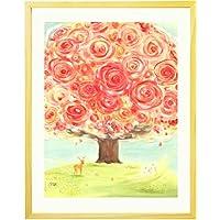 絵画インテリアアート 「いのちの樹」 額入りM(395mm×305mm)