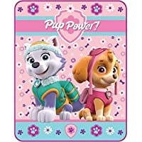 [Paw Patrol]Paw Patrol Silky Soft Throw Skye and Everest, 40 x 50 Inch A3214V [並行輸入品]