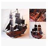 パイレーツオブカリビアン 帆船 海賊船 ペーパークラフト模型