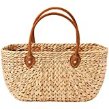 Salisbury & Co Province Carry Basket w/Suede Handles Large