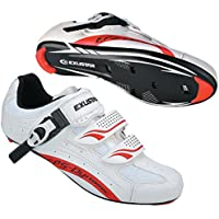 Exustar E-SR403 Road Bike Bicycle Cycling Shoes for Shimano SPD SL Look