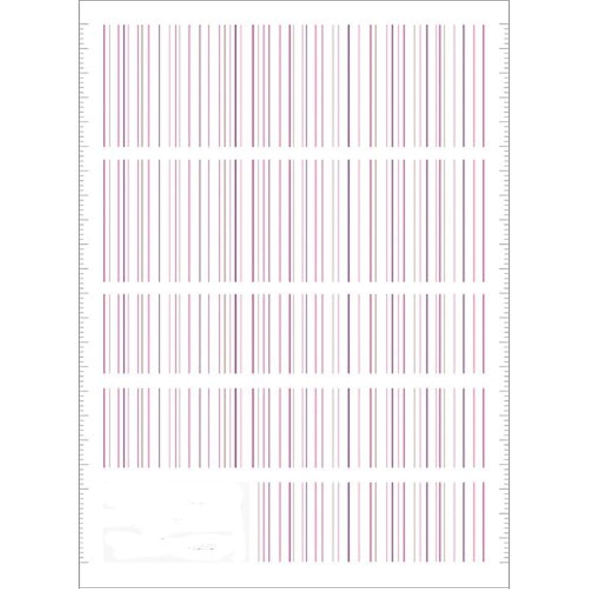 ひいきにする裁判官報酬のツメキラ(TSUMEKIRA) ネイル用シール ピンストライプ ピンク NN-PIN-104