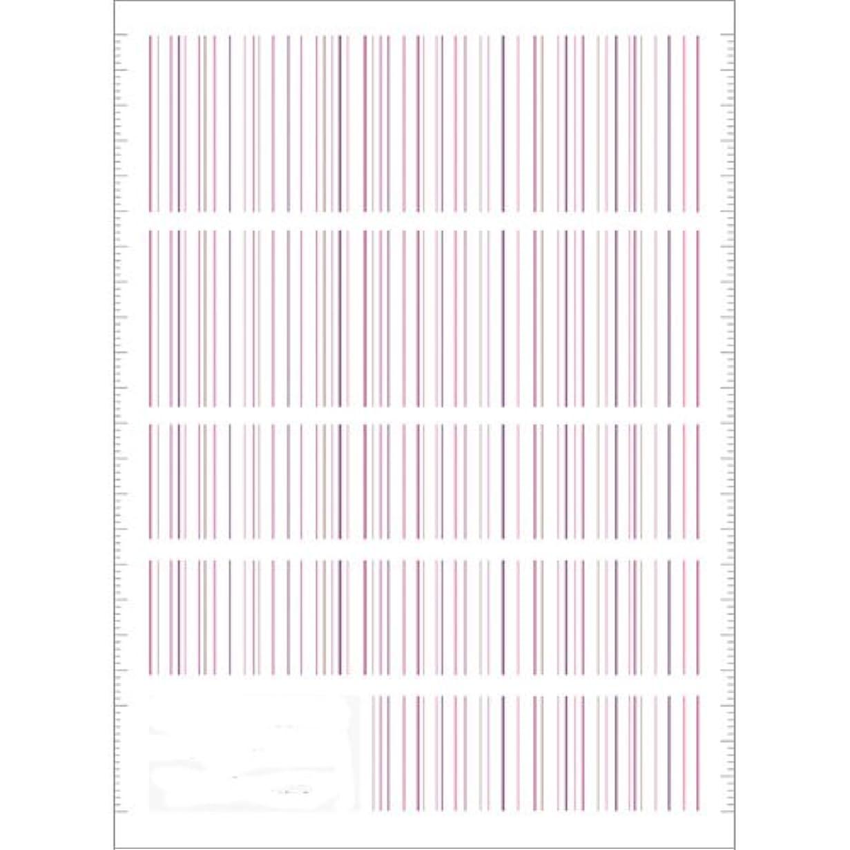 飼い慣らすスパン途方もないツメキラ(TSUMEKIRA) ネイル用シール ピンストライプ ピンク NN-PIN-104