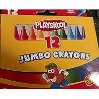Playskool 12ジャンボクレヨン