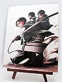 進撃の巨人展 キャンバスアート A 調査兵団 公式グッズ 限定