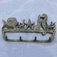 KTYX ヨーロッパとアメリカの錬鉄製の壁の装飾動物のフック コートハンガー