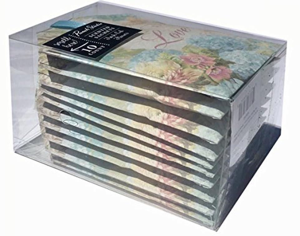 従事した母性十分ですPunch Studio Boxed Fresh Cut Flower香りつきラベンダーサシェ – Love Laugh Love 65032、10 ct