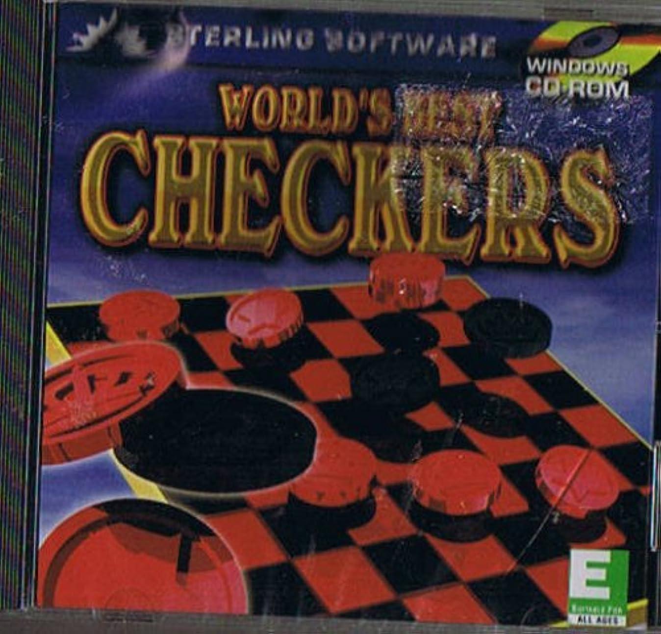 トンネル却下するメーカーWorld's Best Checkers (輸入版)